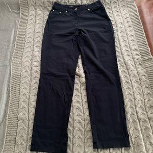 Dark Navy straight leg jeans